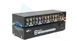 DISTRIBUIDOR DE VIDEO AV 8 PORTAS SWH MT 108AV